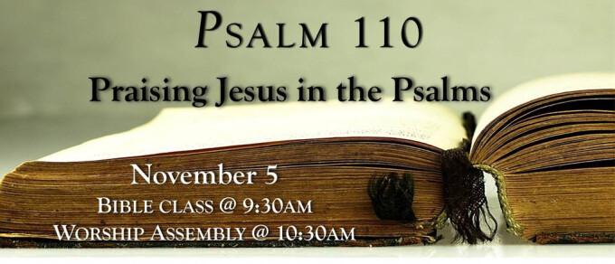 The First Prayer Book: Psalm 110 - Jesus!