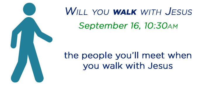 Will you walk with Jesus