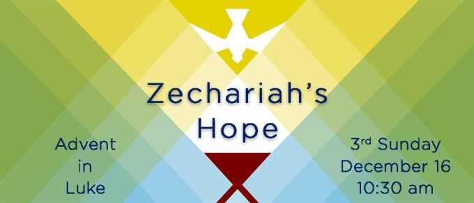 Zechariah's Hope