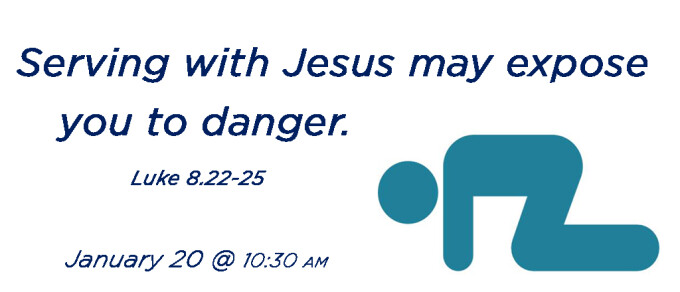 Serving with Jesus may expose you to danger.
