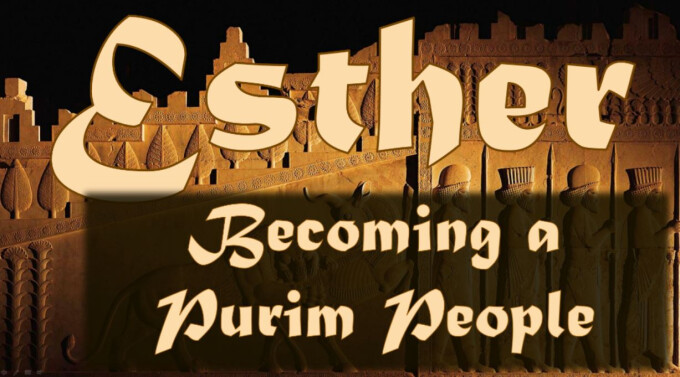 Becoming a Purim People