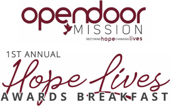 Open Door Mission : 1st Annual New Hope Awards Breakfast
